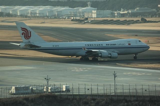 CAのB747-400F