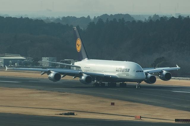 LHのA380 1