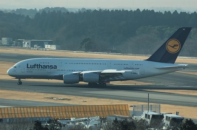 LHのA380 3