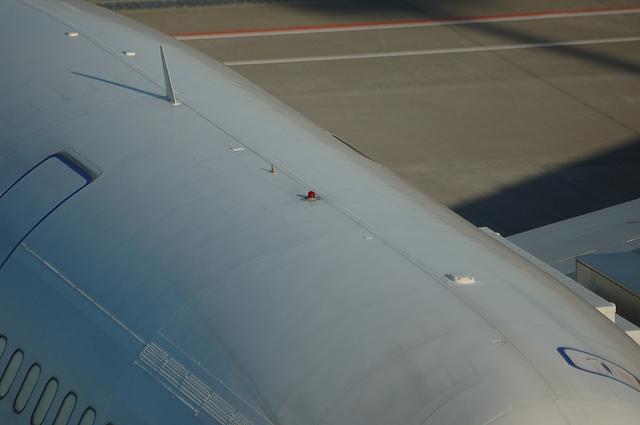 Boeing747 各種アンテナ