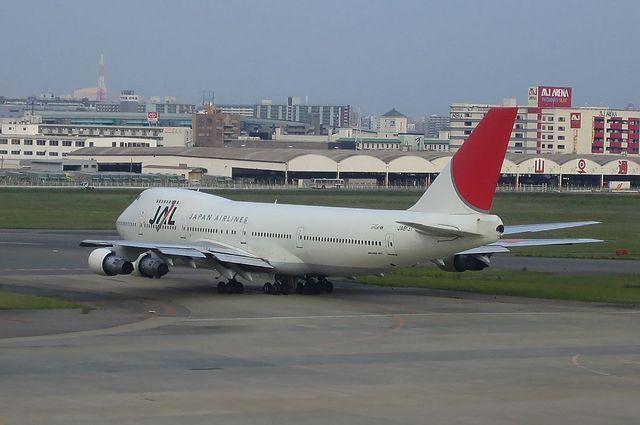 JAL B747-200B 4