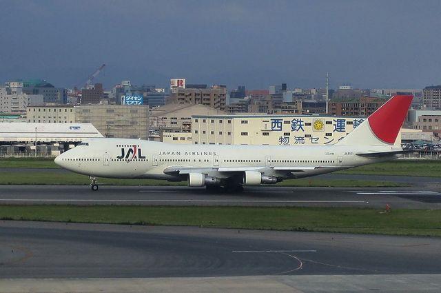 JAL B747-200B 5