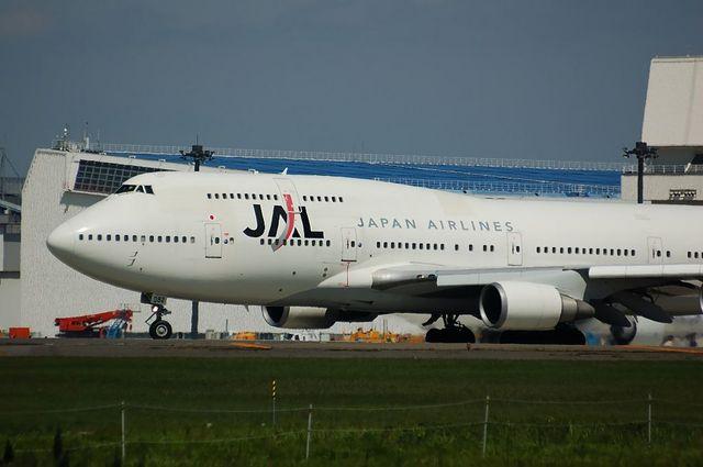 JAL B744 1