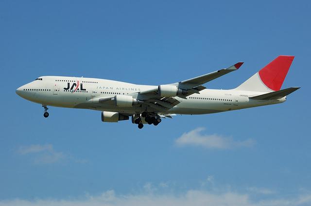 JAL B744 3