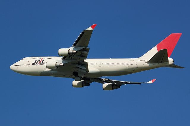 JAL B744 6