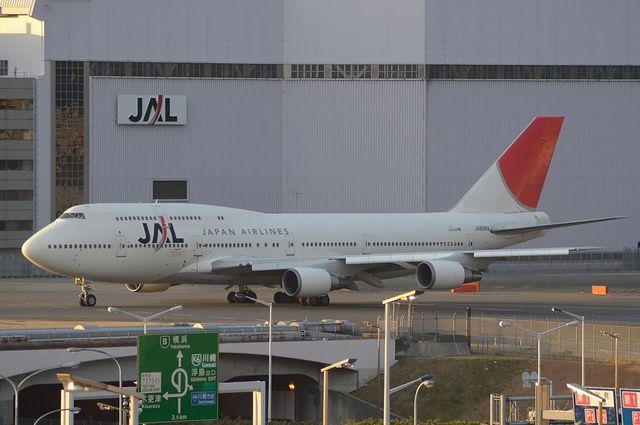 JAL B747 2