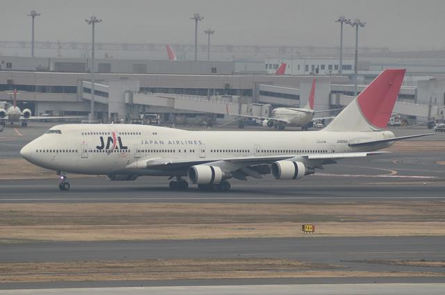 JAL B747 5