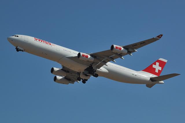 SWISS A340 6