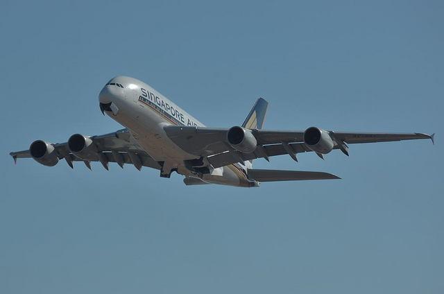 SQ A380 1