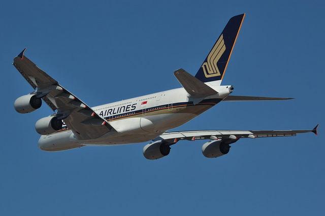 SQ A380 4