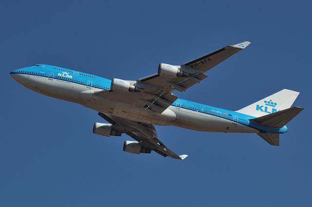 KLM B744 3