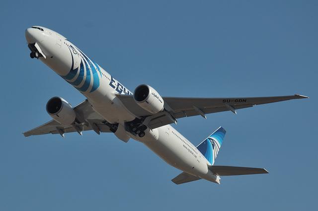 エジプト航空 B777 2