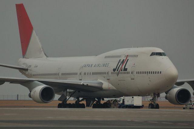 JAL B747-400D 2