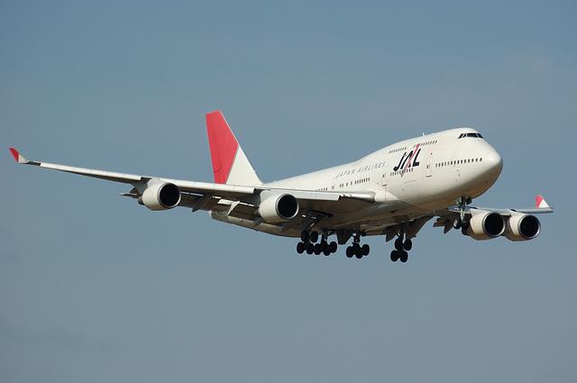 JAL B747 1