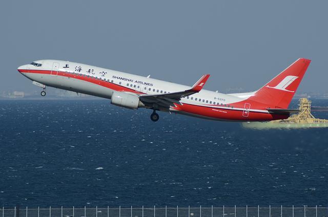 上海航空 B737-800 2