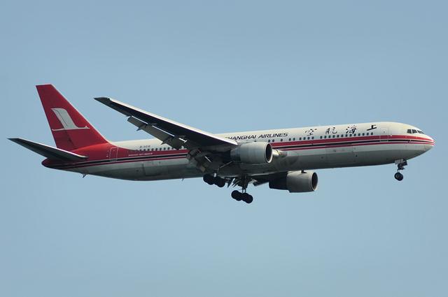上海航空 B767