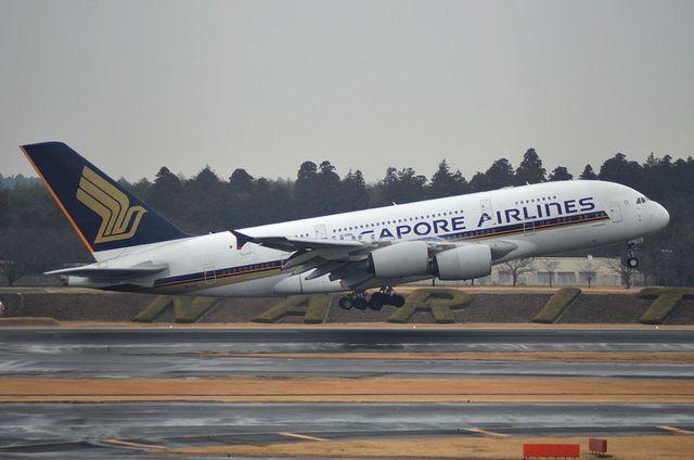 シンガポール A380