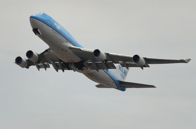 KLM B747 1