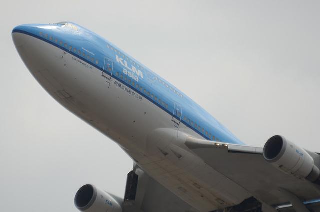 KLM B747 2