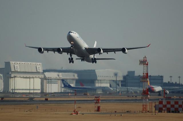 スリランカ航空 A340 1