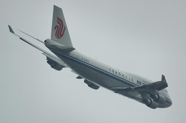 中国国際航空のジャンボ