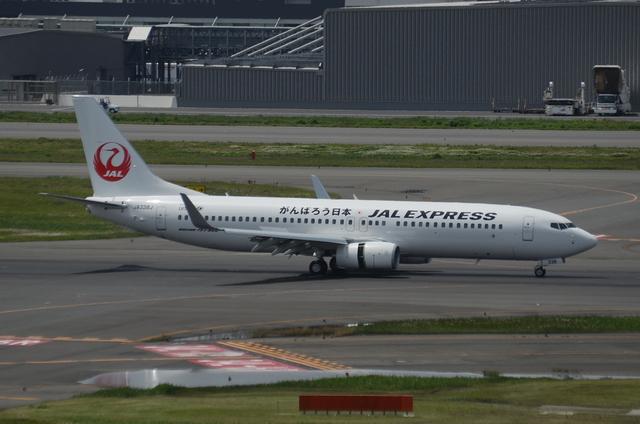 新鶴丸 B737 Landing