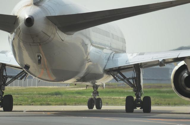 JAL B767 おしり