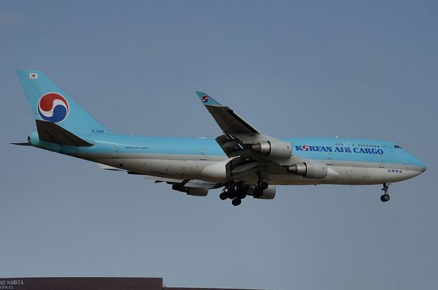 KAL B744F 3
