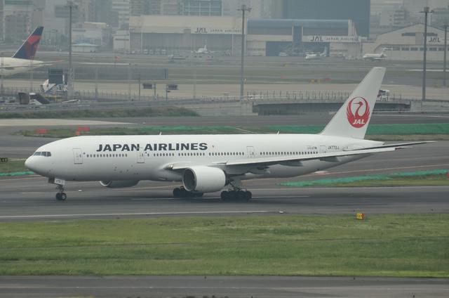 新鶴丸777 離陸滑走