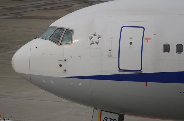 B767の出発