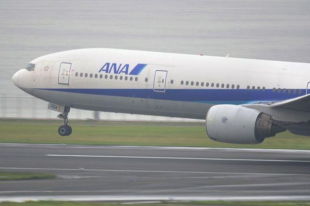 ANA Take Off 11