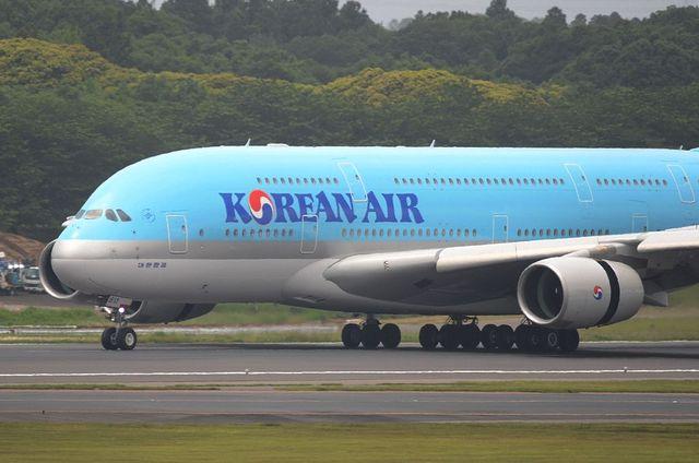 KE A380 Landing 2