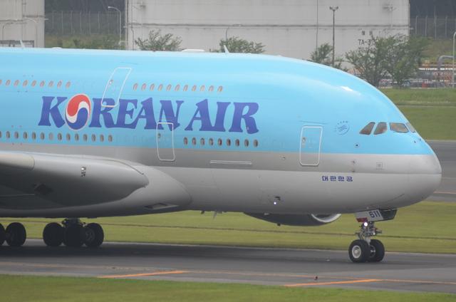 KE A380 Taxing 2