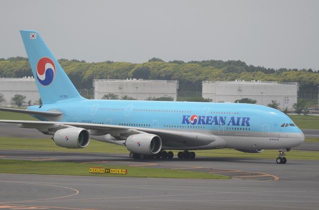 KE A380 Taxing 3