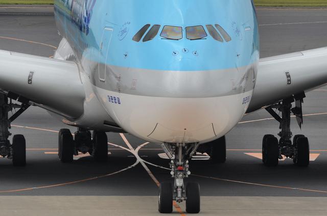 KE A380 Taxing 7