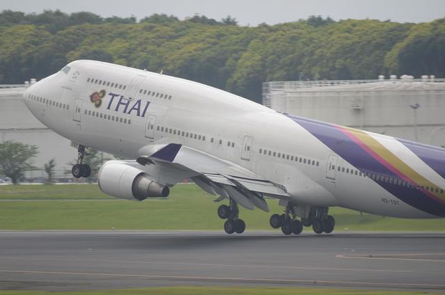 THAI B744 9