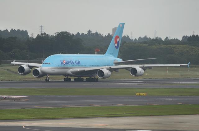 KE A380 Take Off 2