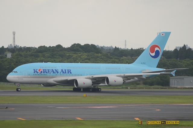 KE A380 Take Off 4