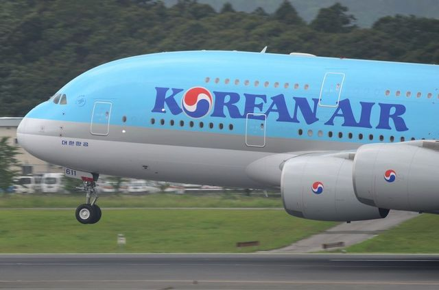 KE A380 Take Off 5