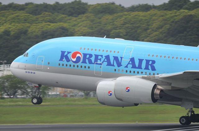 KE A380 Take Off 6