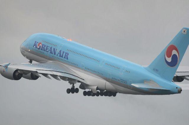 KE A380 Take Off 8