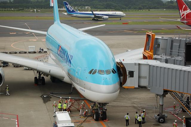 KE A380 Spot in 2
