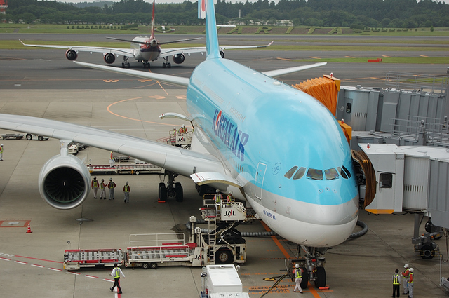 KE A380 Spot in 3