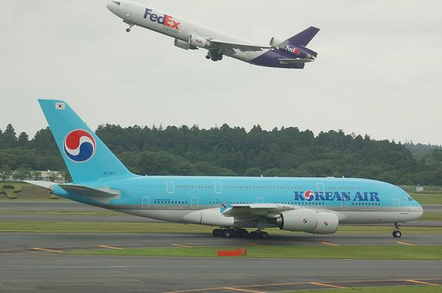 MD-11FとA380