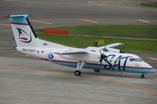 サハリン航空DHC-8-200 1