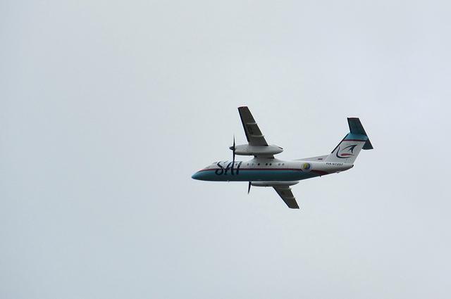 サハリン航空DHC-8-200 5