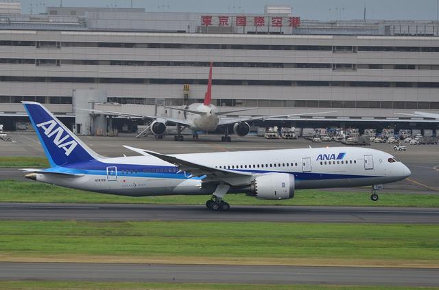 B787 東京国際空港