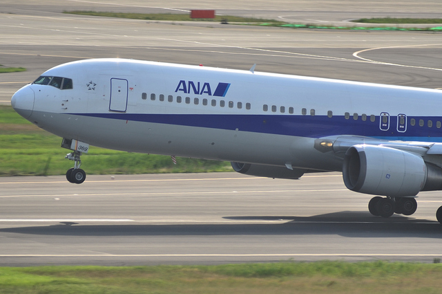 ANA B767 Airbone