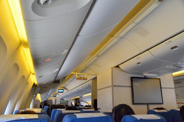 ANA854便機内