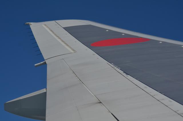 B773の主翼端